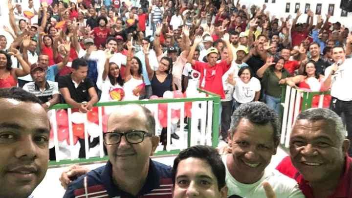 Chapada: Partido dos Trabalhadores comemora 40 anos e empossa novos dirigentes em municípios da região