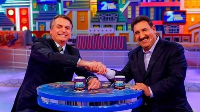 Ratinho e Bolsonaro