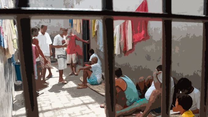 Saidinha presos