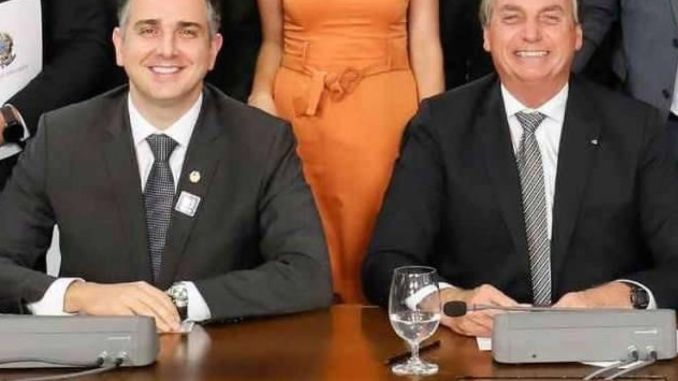 Rodrigo Pacheco e Bolsonaro