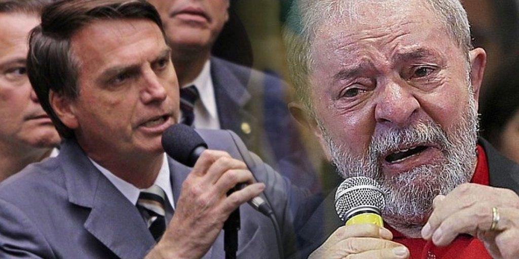 Bolsonaro e Lula