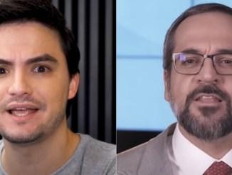 Felipe Neto e Weintraub