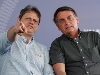 Bolsonaro e Tarcísio