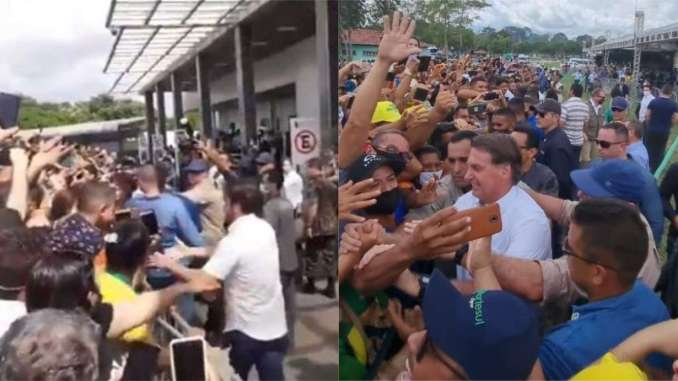 Bolsonaro festa em marabá