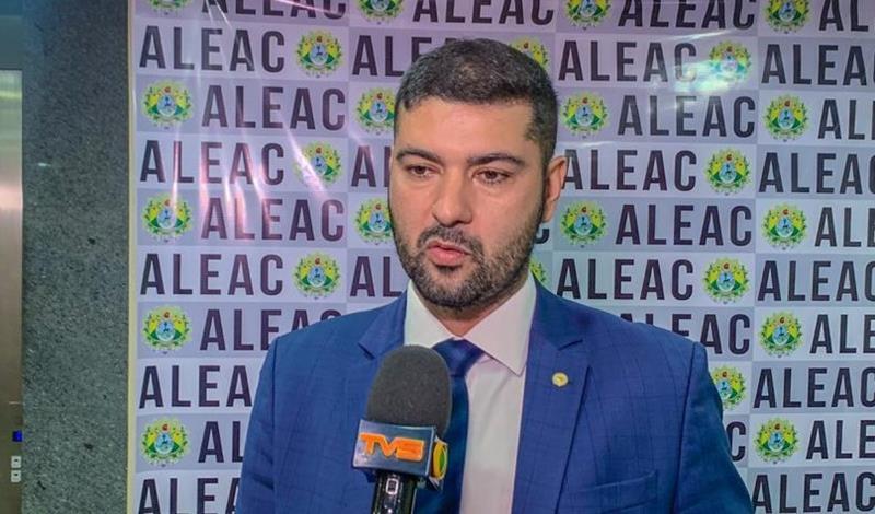 Presidente da Aleac, deputado Nicolau Junior (PP)/Foto: Jardy Lopes