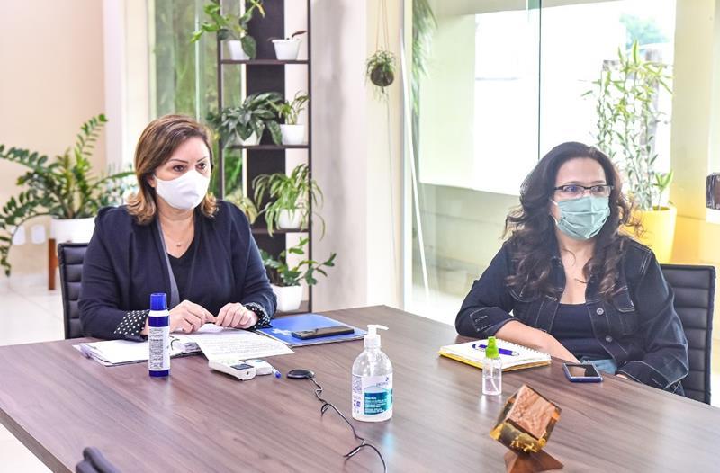 _ Prefeita Socorro Neri participa de Web Conferência (Fotos Fagner Delgado) (1) (Copy)