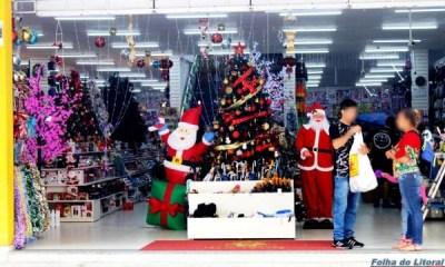 Comércio de Paranaguá ficará aberto até às 23h para as compras de Natal