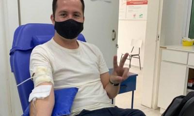 Doador de sangue e medula óssea destaca importância do ato para salvar vidas