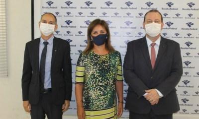Luciano Andreoli toma posse como delegado da Receita Federal em Paranaguá