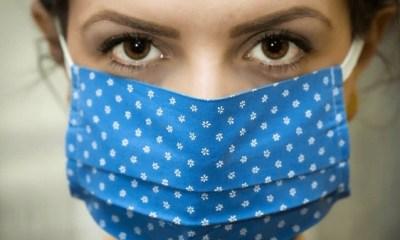 Máscaras de tecido devem ser utilizadas no máximo de duas a três horas