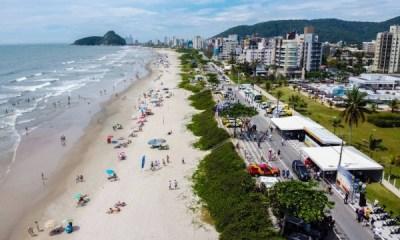 Casos de Covid-19 aumentaram em 44% no último mês no litoral