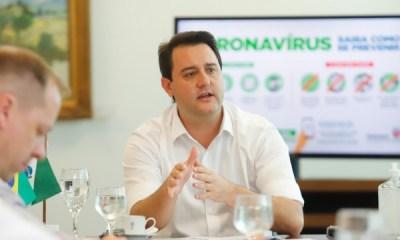 """""""As vacinas são seguras"""", afirma o governador Ratinho Júnior"""