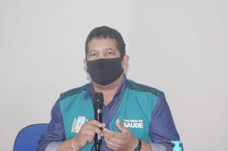 Prefeito de Matinhos, José Carlos do Espírito Santo, o popular Zé da Ecler