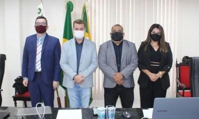 Prefeito Marcelo Roque participa da abertura dos trabalhos legislativos