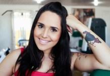 Cantora de funk e ex-cantora gospel Perlla