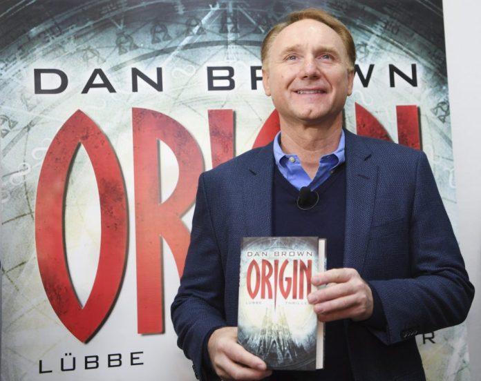Dan Brown no lançamento mundial do seu livro