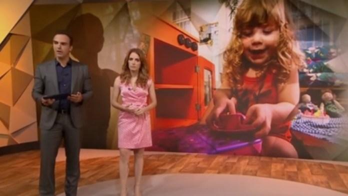 Programa Fantástico, da Rede Globo, defendendo a ideologia de gênero