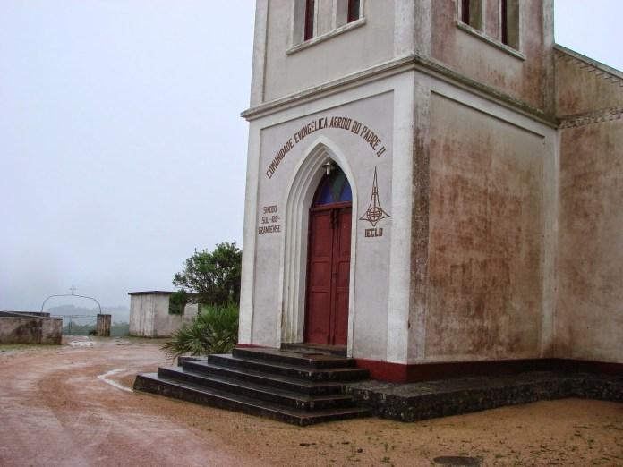 Igreja evangélica em Arroio do Padre, RS, cidade mais evangélica do Brasil