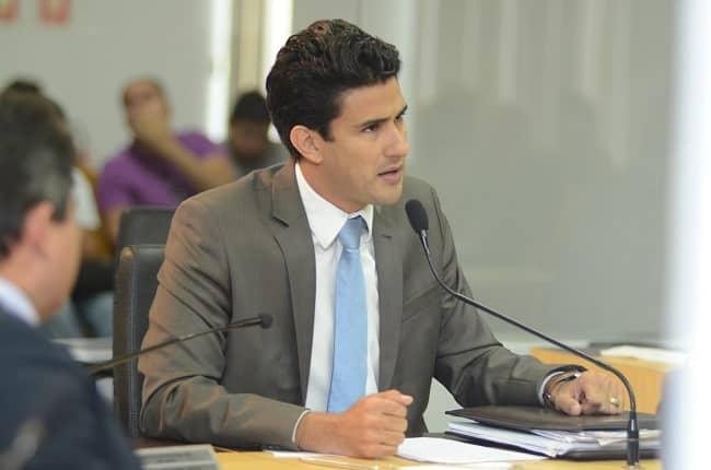 Vereador de Palmas, Tiago Andrino (PSB)