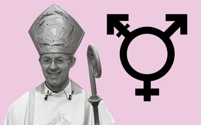 Arcebispo de Canterbury e líder da Igreja Anglicana, Justin Welby, a favor da ideologia de gênero