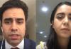 Louis Carlos de Andrade e Vera de Andrade, filhos adotivos de Viviane Freitas, filha de Edir Macedo, líder da IURD