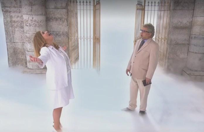 """Esquete """"Deus mulher"""" no programa de humor da Rede Globo Zorra, debocha da fé cristã"""