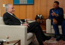 Michel Temer se reúne com Valdemiro Santiago, líder da Igreja Mundial do Poder de Deus