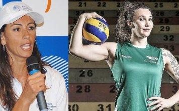 Ana Paula (esquerda) criticou a aceitação de Tifanny (direita), que é transexual, em um time feminino de vôlei.