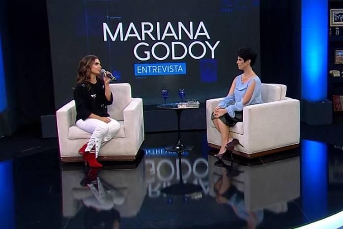 Aline Barros no programa Mariana Godoy Entrevista