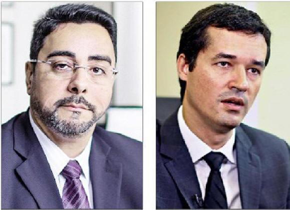 Juiz Marcelo Bretas e o Procurador Deltan Dallagnol