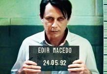 """Petrônio Gontijo no papel de Edir Macedo no filme """"Nada a Perder"""""""