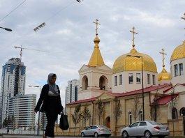 Igreja cristã ortodoxa do Arcanjo Miguel, em Grozny, na Chechênia