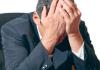 Pastor com depressão e exausto
