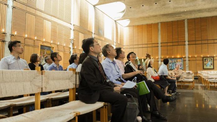 Igreja em Hong Kong, capital da China