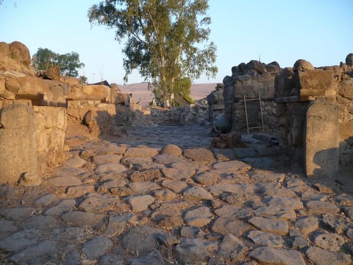 Cidade bíblica de Betsaida, em Israel
