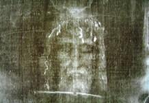 Imagem da suposta face de Jesus no Santo Sudário