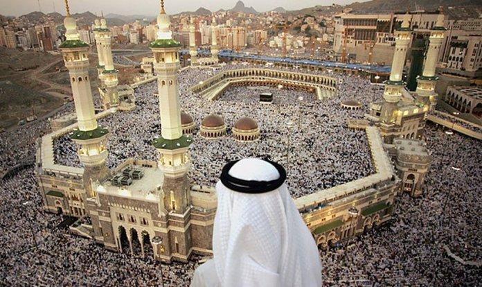 Milhões de muçulmanos fazem a peregrinação até a cidade de Meca, na Arábia Saudita. (Foto: Reprodução)