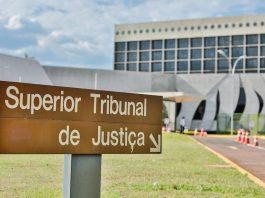Fachada do STJ (Superior Tribunal de Justiça), em Brasília