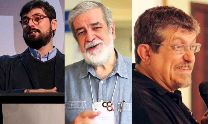 Pastores Jonas Madureira, Augustus Nicodemus e Luiz Sayão. (Foto: Reprodução)