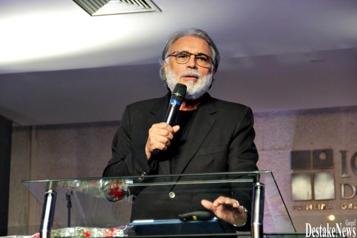 Pastor Estevam Fernandes, da Primeira Igreja Batista de João Pessoa, na Paraíba