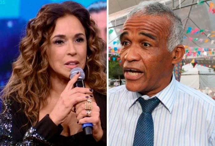 Cantora Daniela Mercury e o deputado estadual Pastor Sargento Isidório