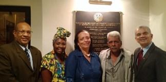 Dr. Gilberto Garcia e líderes religiosos de cultos afro-brasileiros