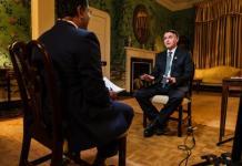 Entrevista de Bolsonaro para a rede de tv cristã CBN News, durante viagem aos EUA