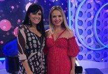 Fernanda Brum participa do Programa da Eliana, no SBT