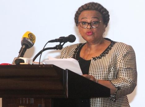 Ministra da Cultura de Angola, Carolina Cerqueira Fotografia: Kindala Manuel