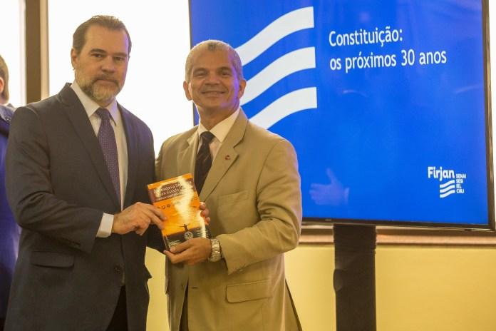 Dias Toffoli, ministro do STF e o Dr. Gilberto Garcia