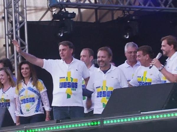 Jair Bolsonaro na Marcha para Jesus 2019