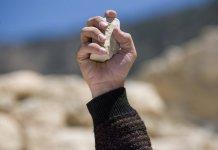 Pedra na mão