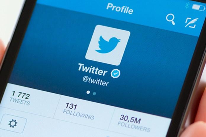Twitter no smartphone