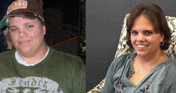 Laura como transgênero (à esquerda) e em sua verdadeira identidade feminina (à direita). (Foto: Reprodução/Facebook)
